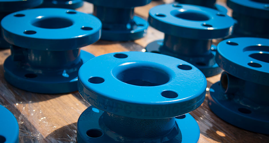 Powder Coated Flanges