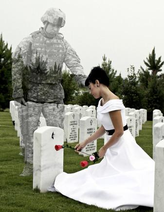 """Призрачный солдат и """"месть священного места""""."""