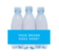350ml custom branded water