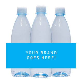 500ml custom branded water