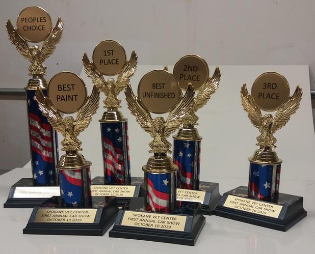Eagles & Flag Trophies