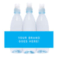 500ml sipper custom branded water