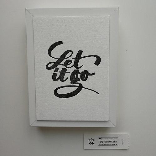 """Paperreka // """"Let it go"""" Grafika"""