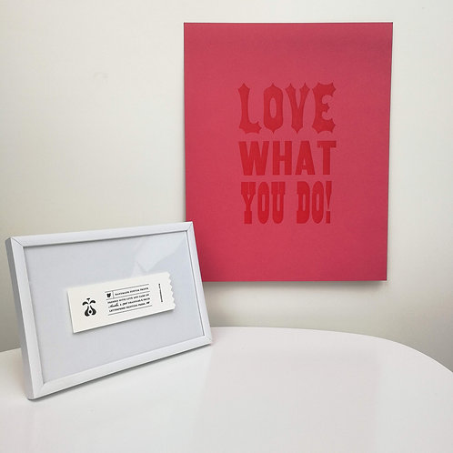 "Paperreka // ""Love what you do"" Grafika"