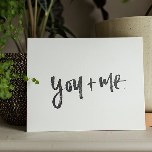 """Paperreka // """"You and Me"""" Grafika"""