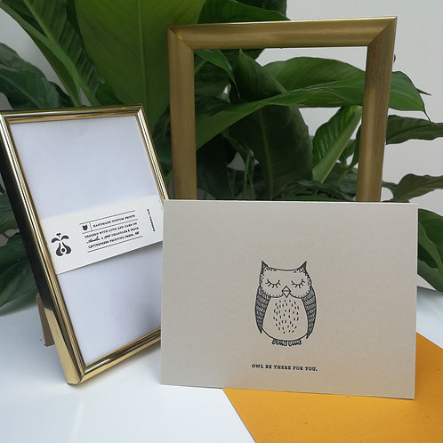 "Paperreka // ""Owl be there for you"" Üdvözlőkártya"