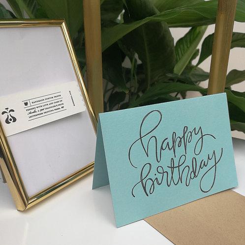 """Paperreka // """"Happy Birthday"""" Üdvözlőkártya"""