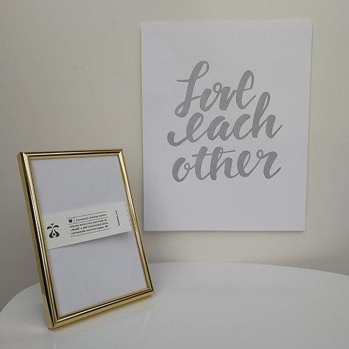 """Paperreka // """"Love each other"""" Grafika"""
