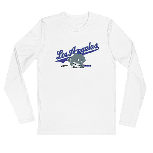 Olli Los Angeles Long Sleeve Fitted Crew