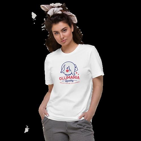 Retro Ollimania Unisex Organic Cotton T-Shirt