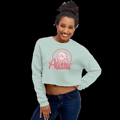 Atomic Skater Crop Sweatshirt