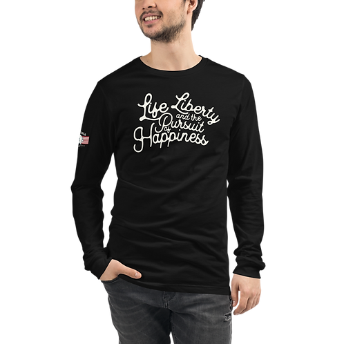 'Merica Liberty Unisex Long Sleeve Tee