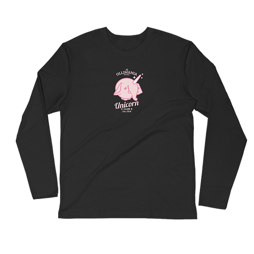 Pink Unicorn Long Sleeve shirt
