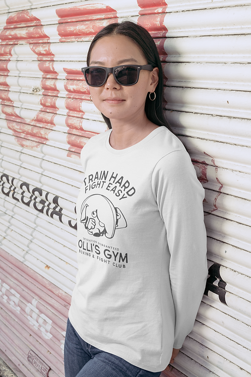 Olli Boxing Long Sleeve Fitted Crew