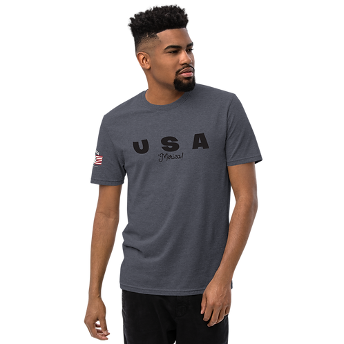 USA Merica Unisex recycled t-shirt