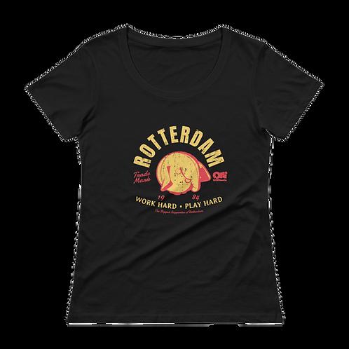 Retro Olli Rotterdam Ladies' Scoopneck T-Shirt
