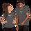 Thumbnail: 'Merica asphalt Short-Sleeve Unisex T-Shirt