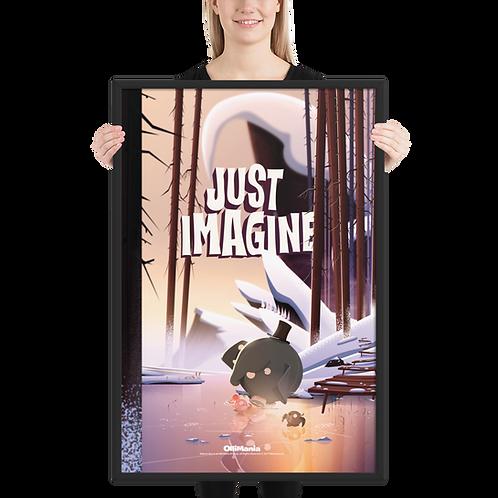 Olli Imagine Framed poster