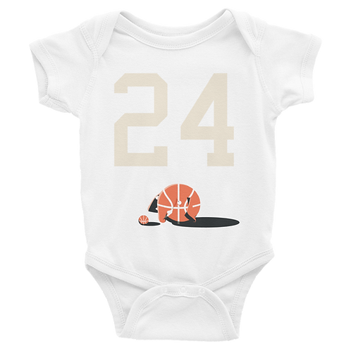 Basketball 24 Infant Bodysuit