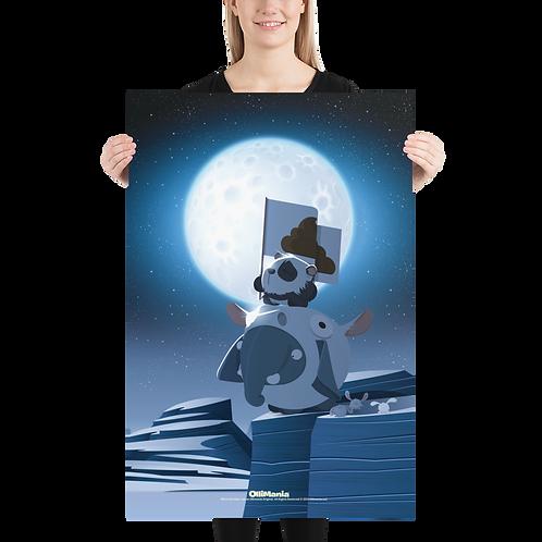Olli & Hiro Daro Poster