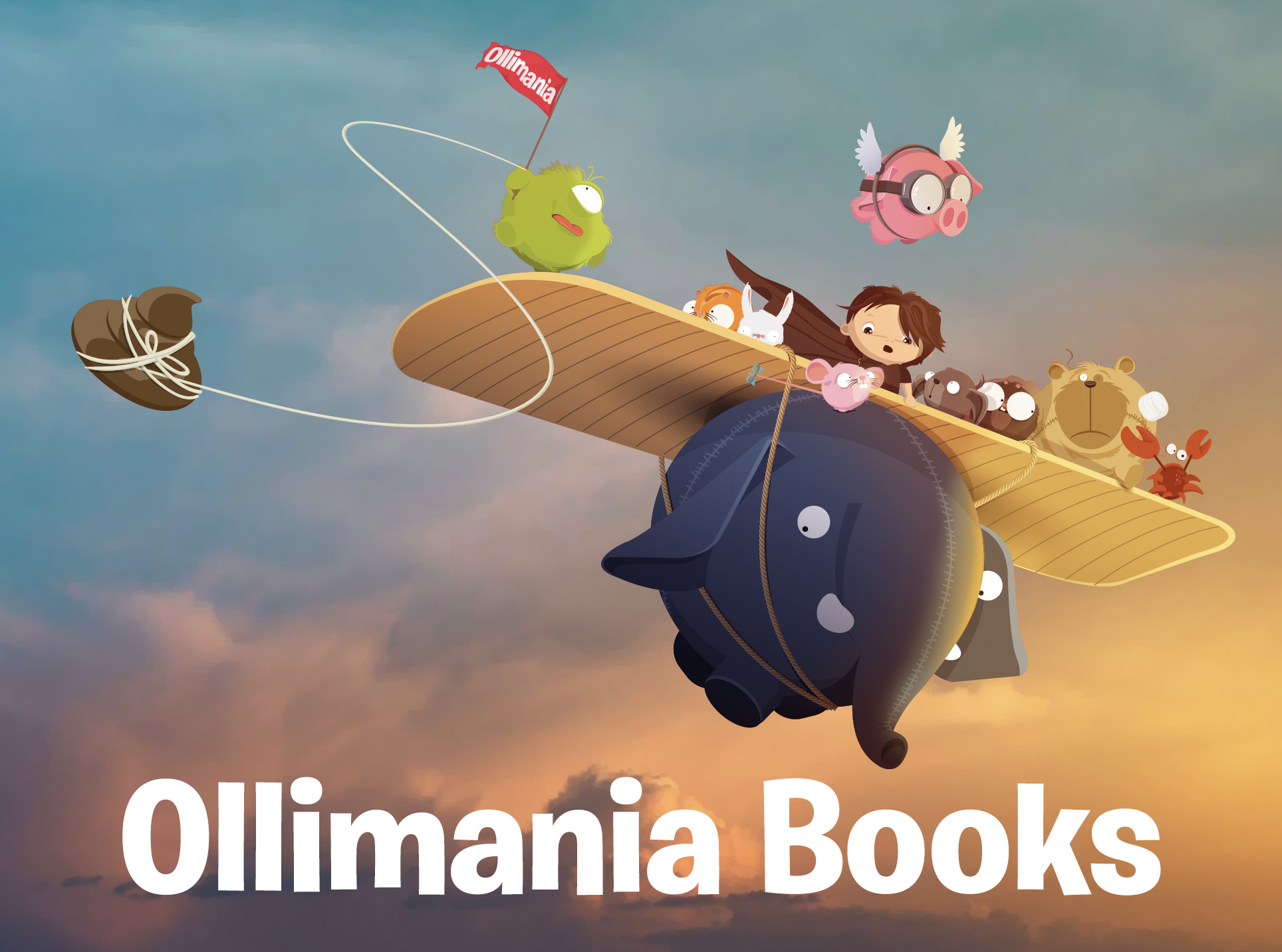 FLYING OLLI PLANE title