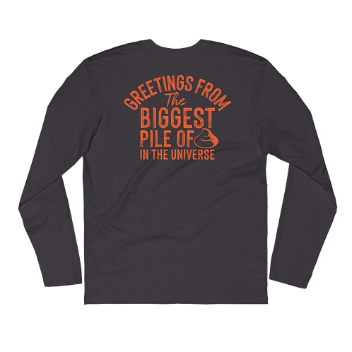 Hopeful Pile Long Sleeve Fitted Crew
