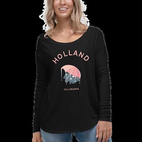 Olli Holland rain Ladies' Long Sleeve Tee