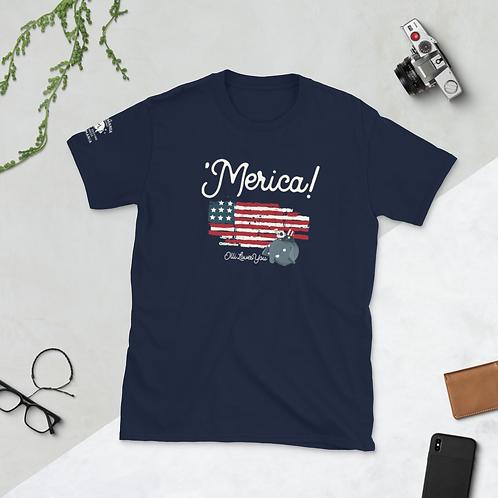 'Merica Short-Sleeve Unisex T-Shirt