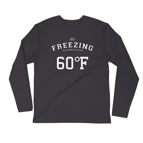 Freezing Long Sleeve Fitted Crew