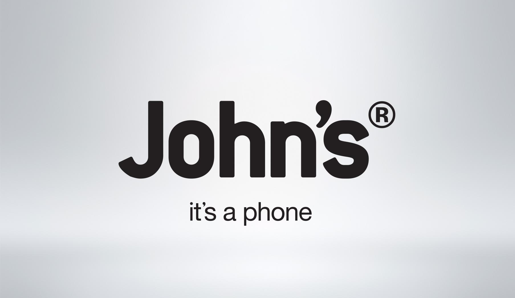 JOHNS PHONE LOGO
