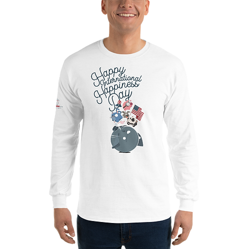 Happiness Day Long Sleeve Shirt