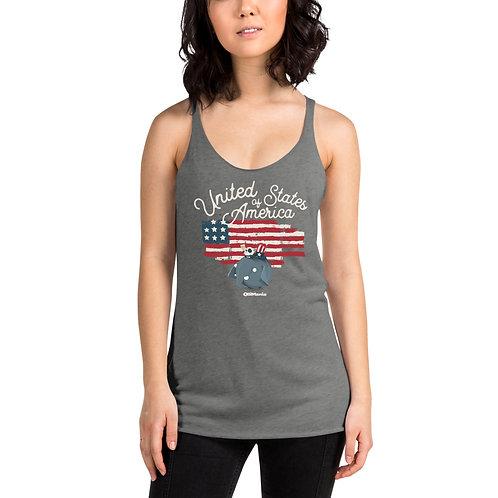 Olli USA Women's Racerback Tank