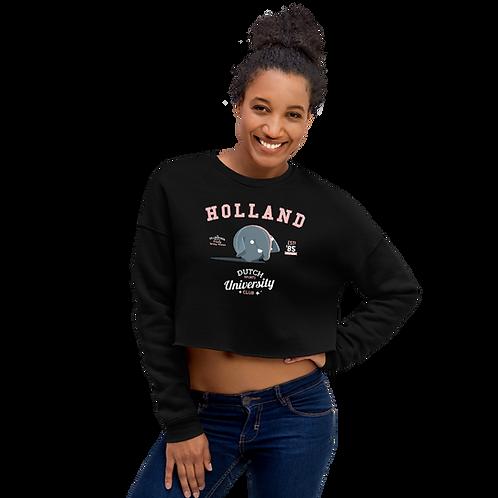 Holland Olli Crop Sweatshirt