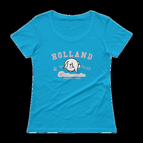 Holland Ladies' Scoopneck T-Shirt