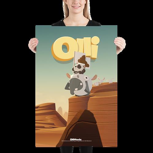 Olli Cowboy Poster