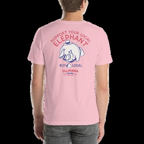 Olli retro Local Elephant Unisex T-Shirt