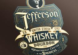 • Jefferson label BLUE