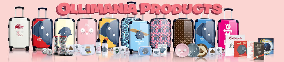 Ollimania Olli licensed products