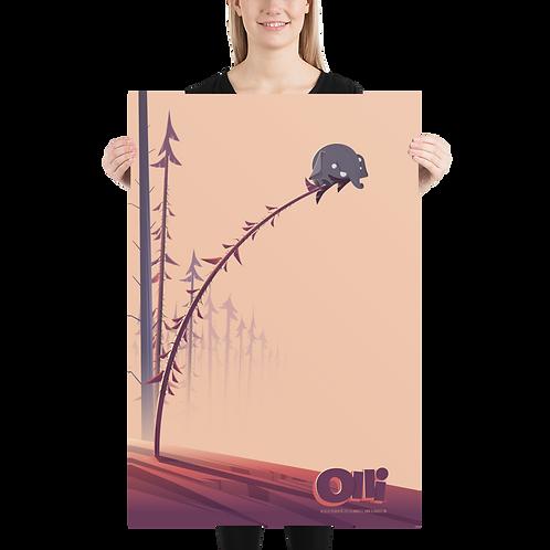 Olli in tree Poster