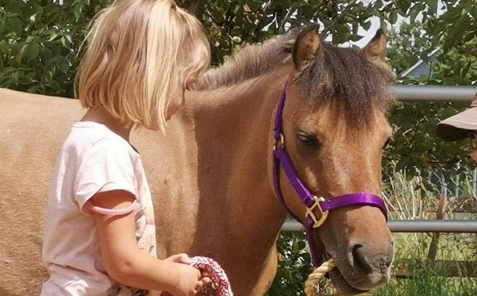 Kind mit Pony