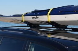 Eddyline on Yellow Kayak Wing