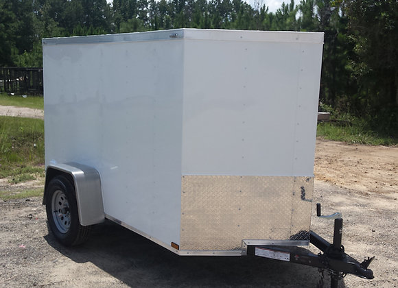 Lark 5X10 Single Axle Cargo Trailer