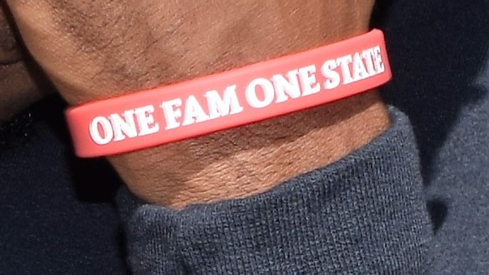 """ONE FAM ONE STATE"" Wristband"
