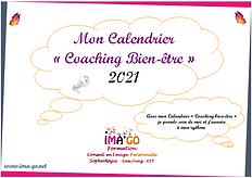 Calendrier Coaching Bien-être ImaGo 2021