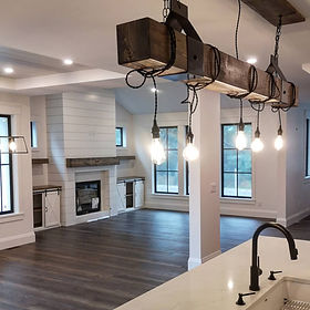 Custom cabinets, rustic decor and mantles,  The Plane and Nail Co.