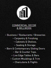 Commercial Decor & Millwork