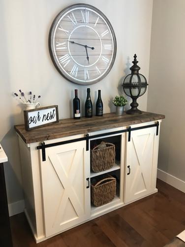 Rosedale Barn Cabinet