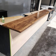 Mountainview Brewing Maple Counters
