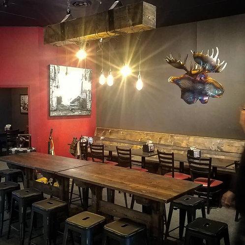 Restaurant & Brewery Millwork & Decor