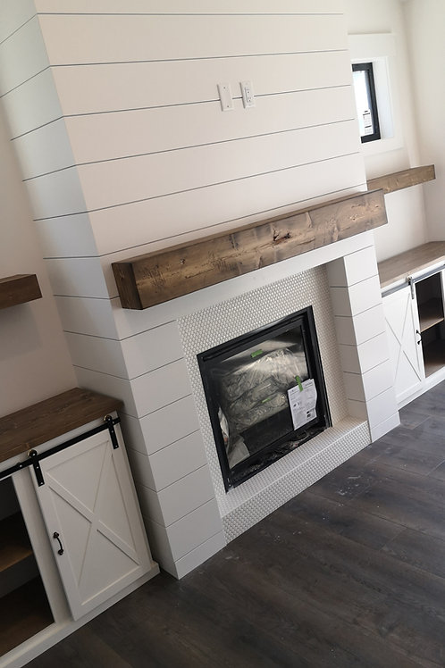 Rustic Fireplace Mantles